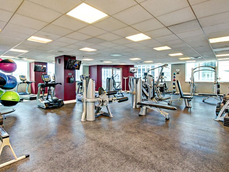 Met Tower Apartments Fitness Center