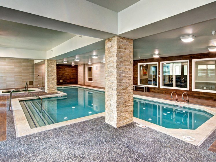 Met Tower Apartments Indoor Swimming Pool Area