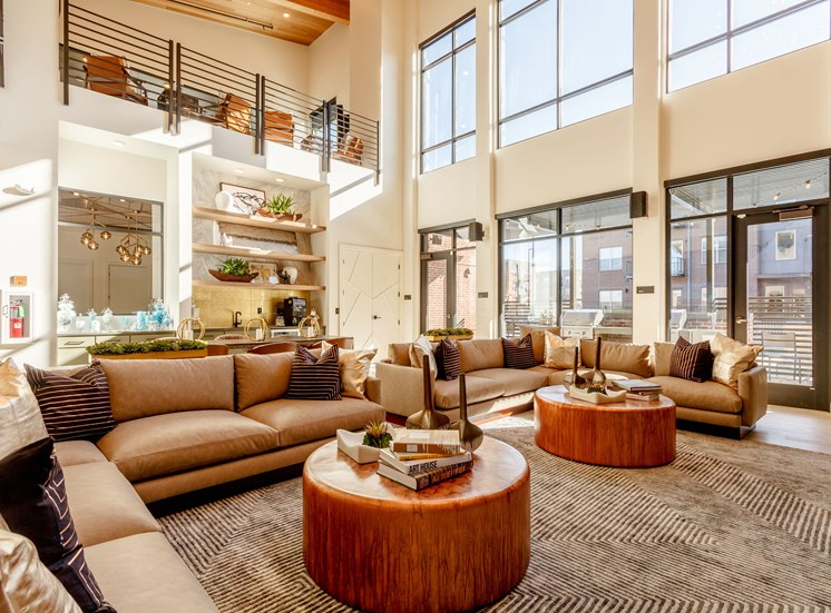 Gorgeous Living Room at Railway Flats Apartments, Colorado