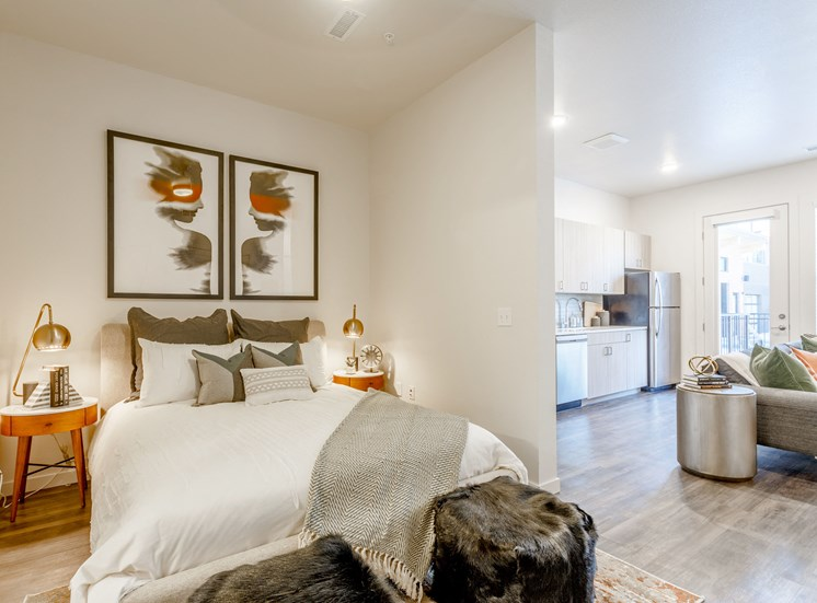 Large Comfortable Bedrooms at Railway Flats Apartments, Loveland, 80538