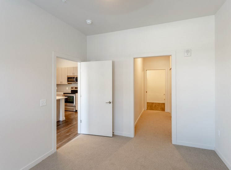 Spacious Laundry Room at Railway Flats Apartments, Loveland, 80538