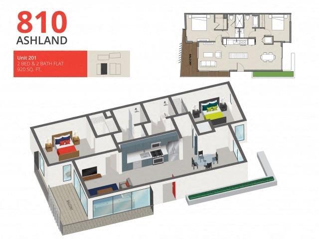 Floor Plans Of 810 Ashland In Santa Monica  Ca