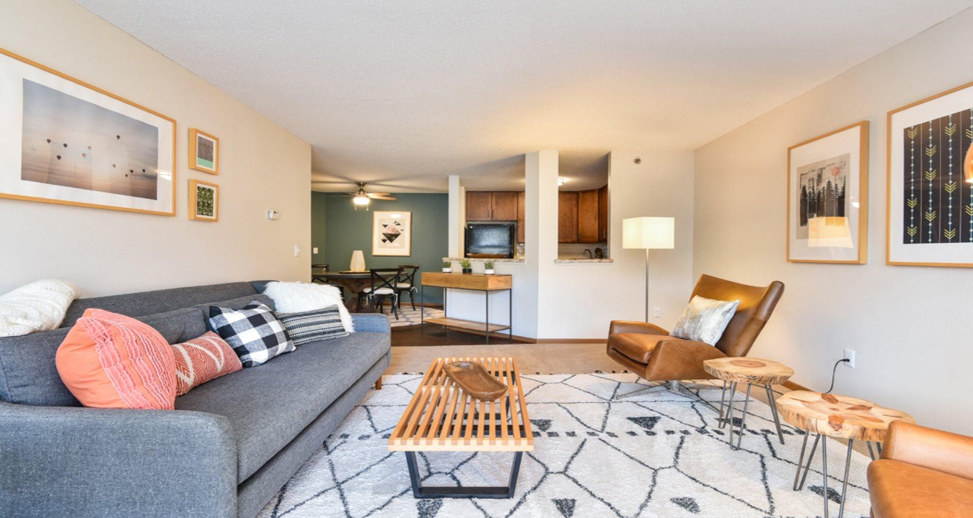 Minnetonka Hills Living Area