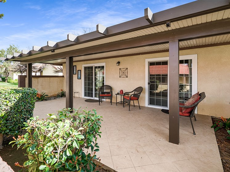 Spacious, Landscaped Patio and Private Courtyard at Westmont Village, California, 92518