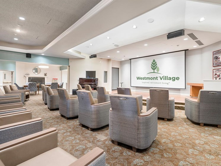 Conference Hall at Westmont Village, California