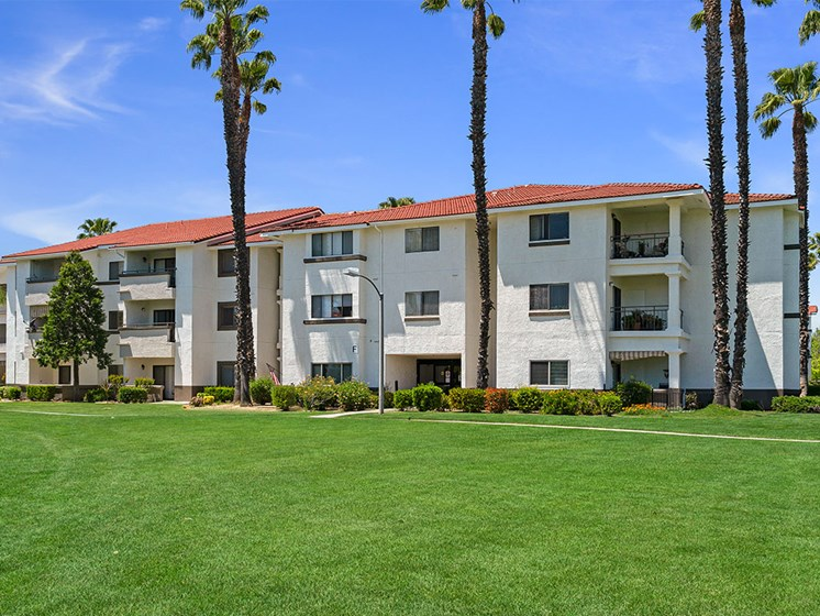 Lush Green Outdoor Spaces at Westmont Village, Riverside, CA, 92518