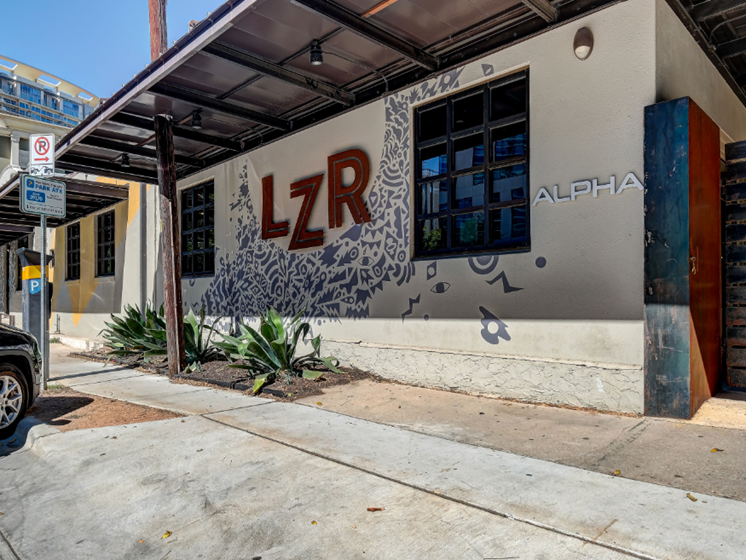 Walking distance retail - LZR street view