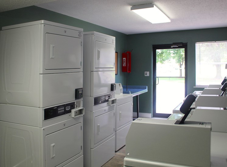on-site laundry facility at VUE at Rocket City Apartments
