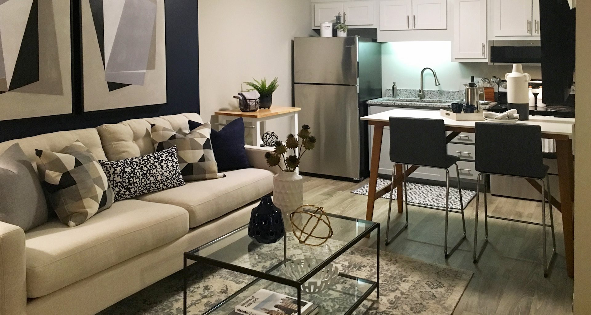 Tara Garden Apartments in Huntsville, Al upgraded studio apartment
