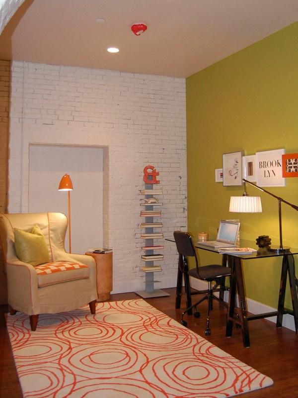 office space in corner