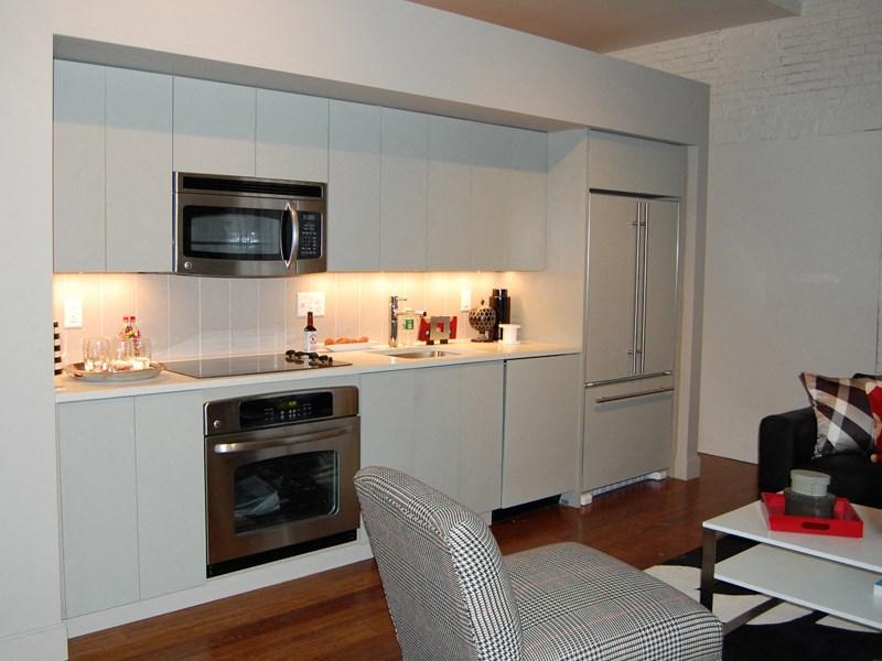 State-of-the-Art Kitchen with Tiled Backsplash