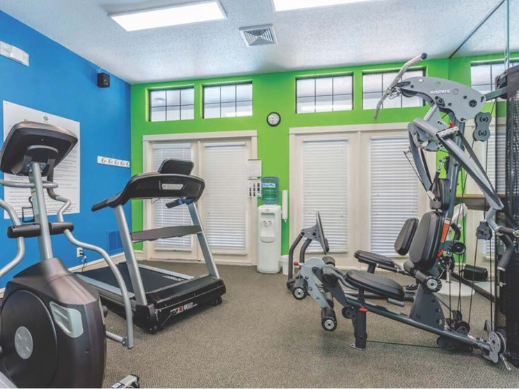 Apartments in Topeka, KS fitness center
