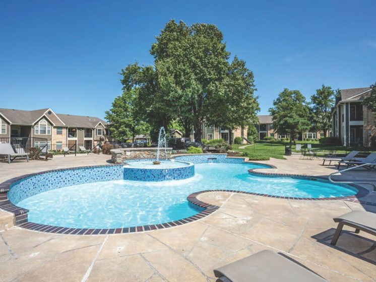 Apartments in Topeka, KS pool