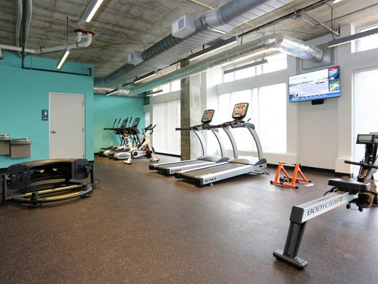 High Endurance Fitness Center at The George & The Leonard, Atlanta