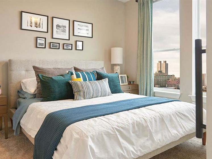Spacious Bedroom With Comfortable Bed at The George & The Leonard, Atlanta, GA