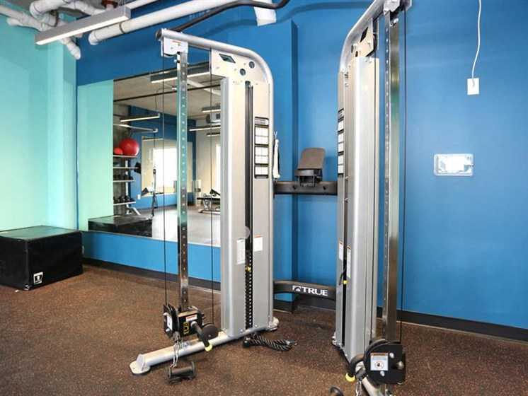 Fully Equipped Fitness Center at The George & The Leonard, Georgia, 30312