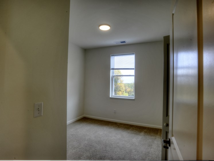 one bedroom from closet union at crescent