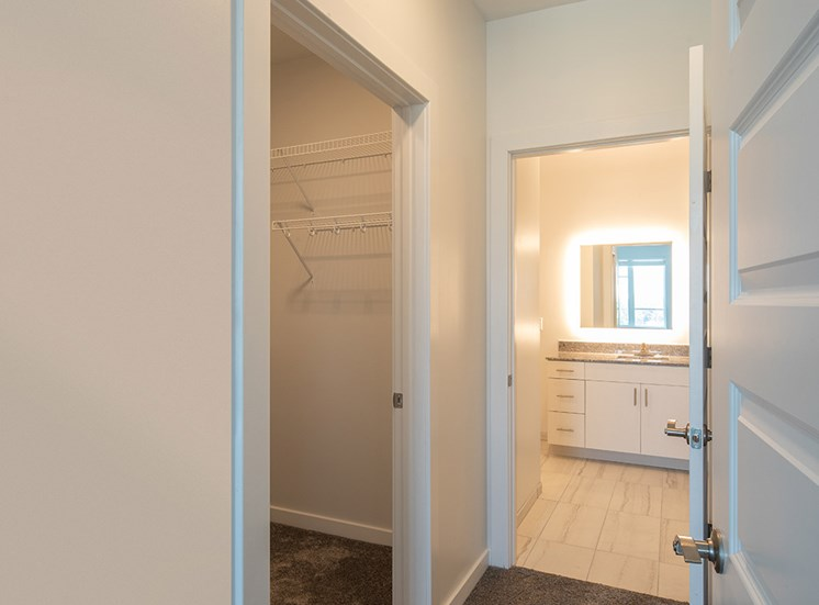 Second bedroom at Helix Apartments in Chespeake VA