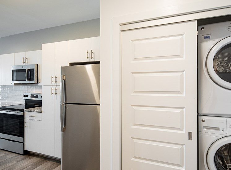 Laundry at Helix Apartments in Summit Pointe Chesapeake VA