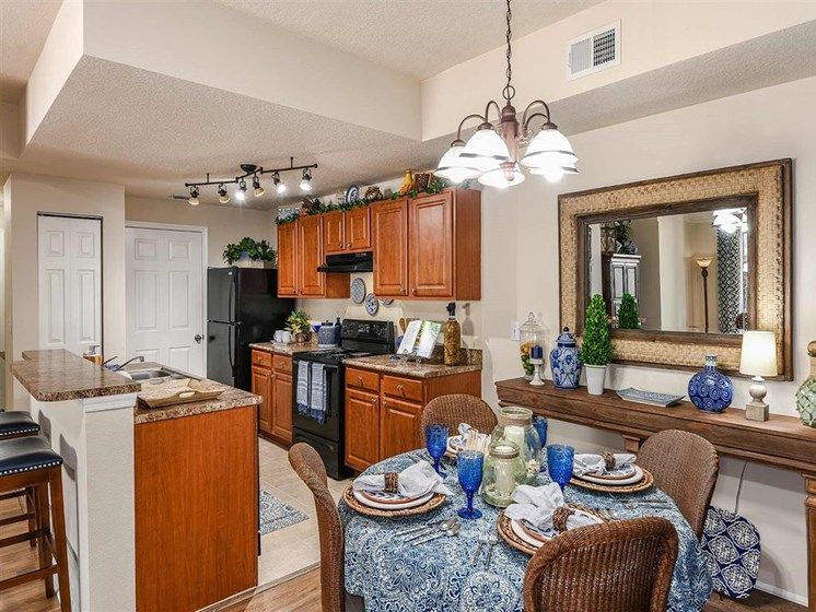 Fountain Villas Kitchen Area
