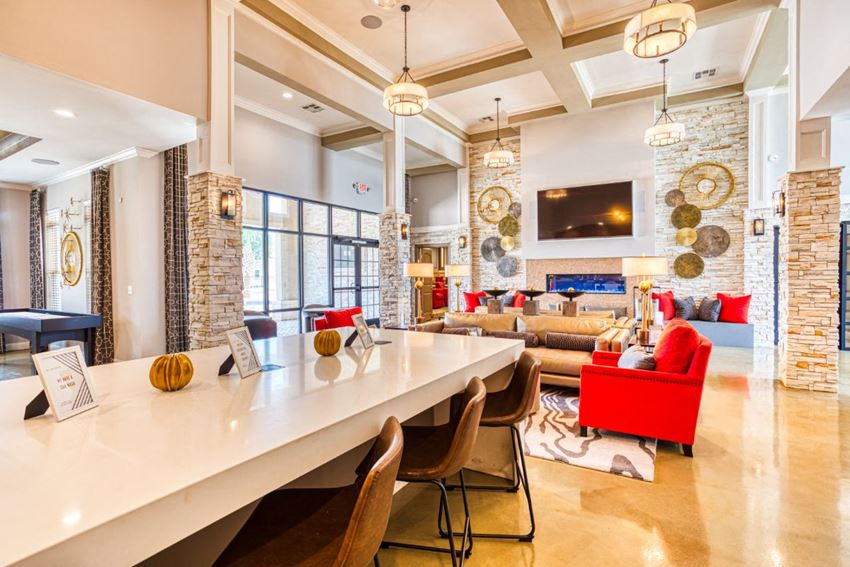 Open Lobby for Apartment Buiding at Harborstone