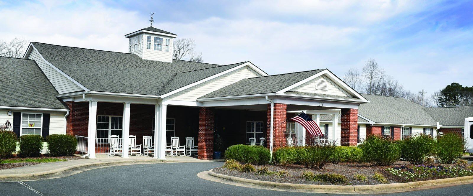 Apartment Community Entrance at Spring Arbor of Albemarle