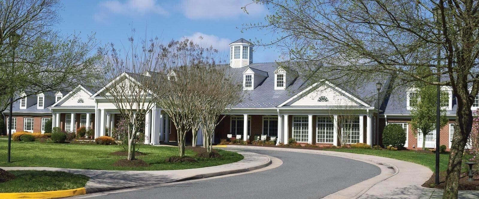 Elegant Exterior View Of Property at Spring Arbor of Salisbury, Midlothian, VA, 23113