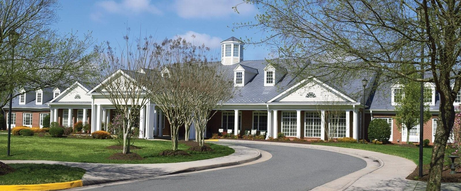 Elegant Exterior View Of Property at Spring Arbor of Salisbury, Midlothian, VA, 23113