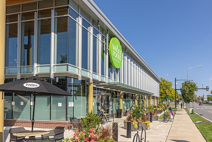 Whole Foods in walking distance of Main Line apartment complex