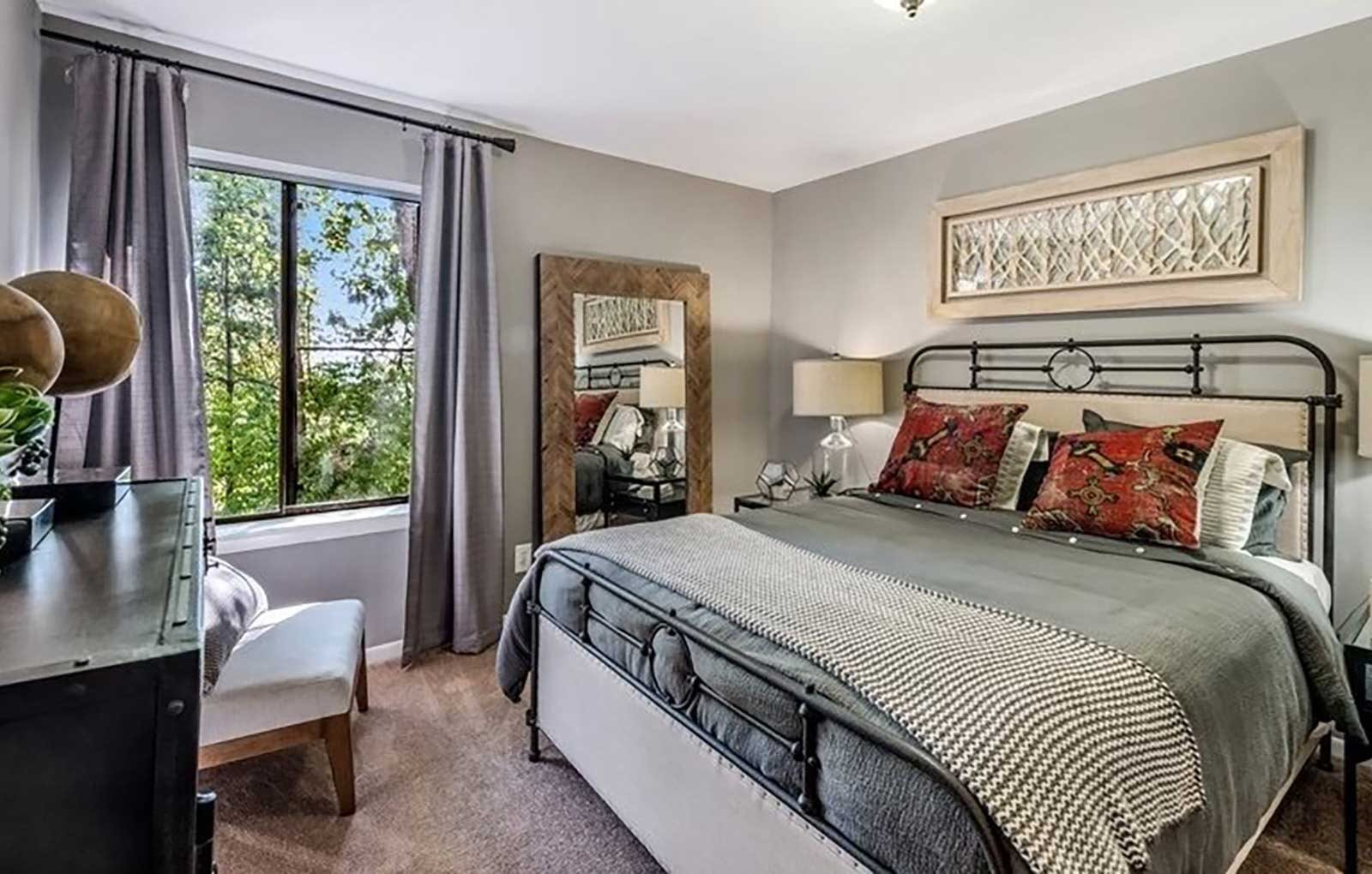 Private Master Bedroom at Brookland Ridge Apartments, Washington