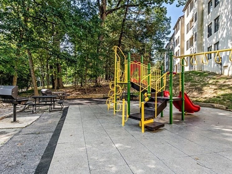 Playground on Site at Brookland Ridge Apartments, Washington, DC, 20017