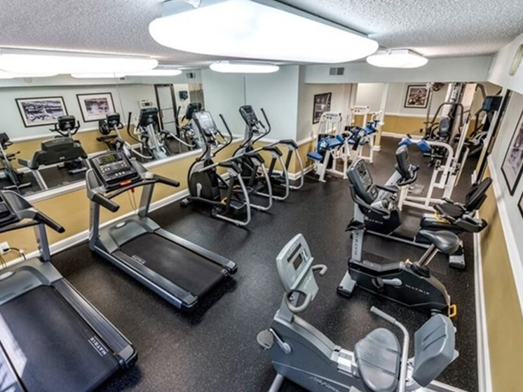 World-Class Fitness Center at Brookland Ridge Apartments, Washington