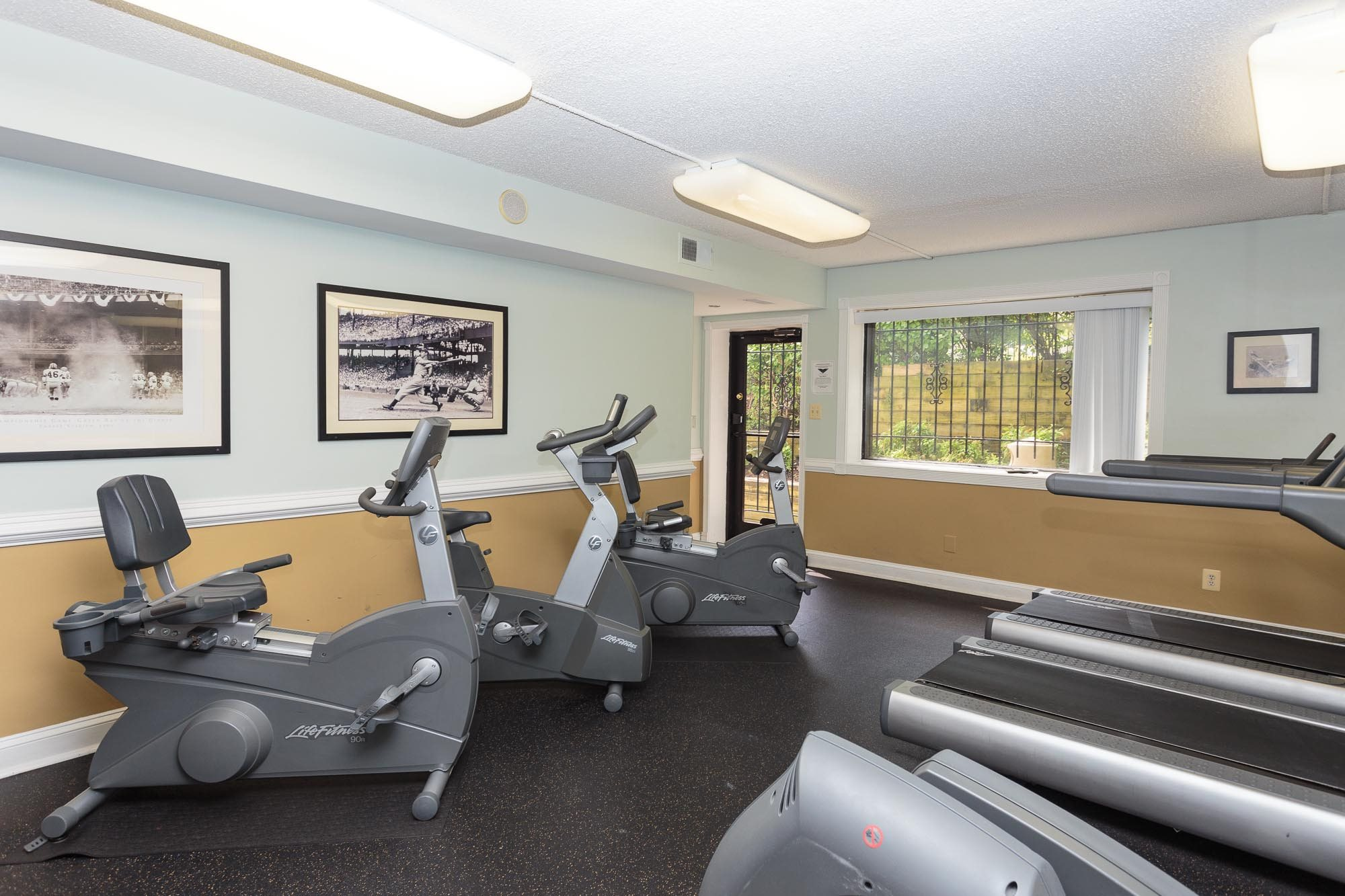 Fitness Center with Free Weights at Brookland Ridge Apartments, DC, 20017