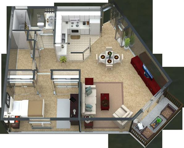 Adagio Floor Plan 1