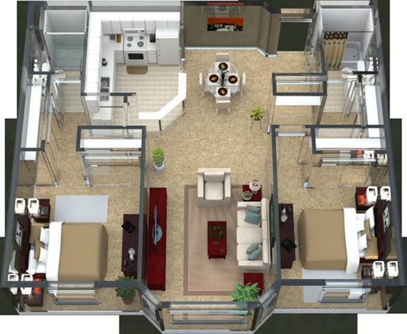 Bordeaux Floor Plan 5