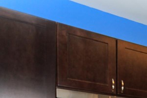 Rich Shaker Style Cabinetry at Brittany Commons Apartments, Spotsylvania, Virginia
