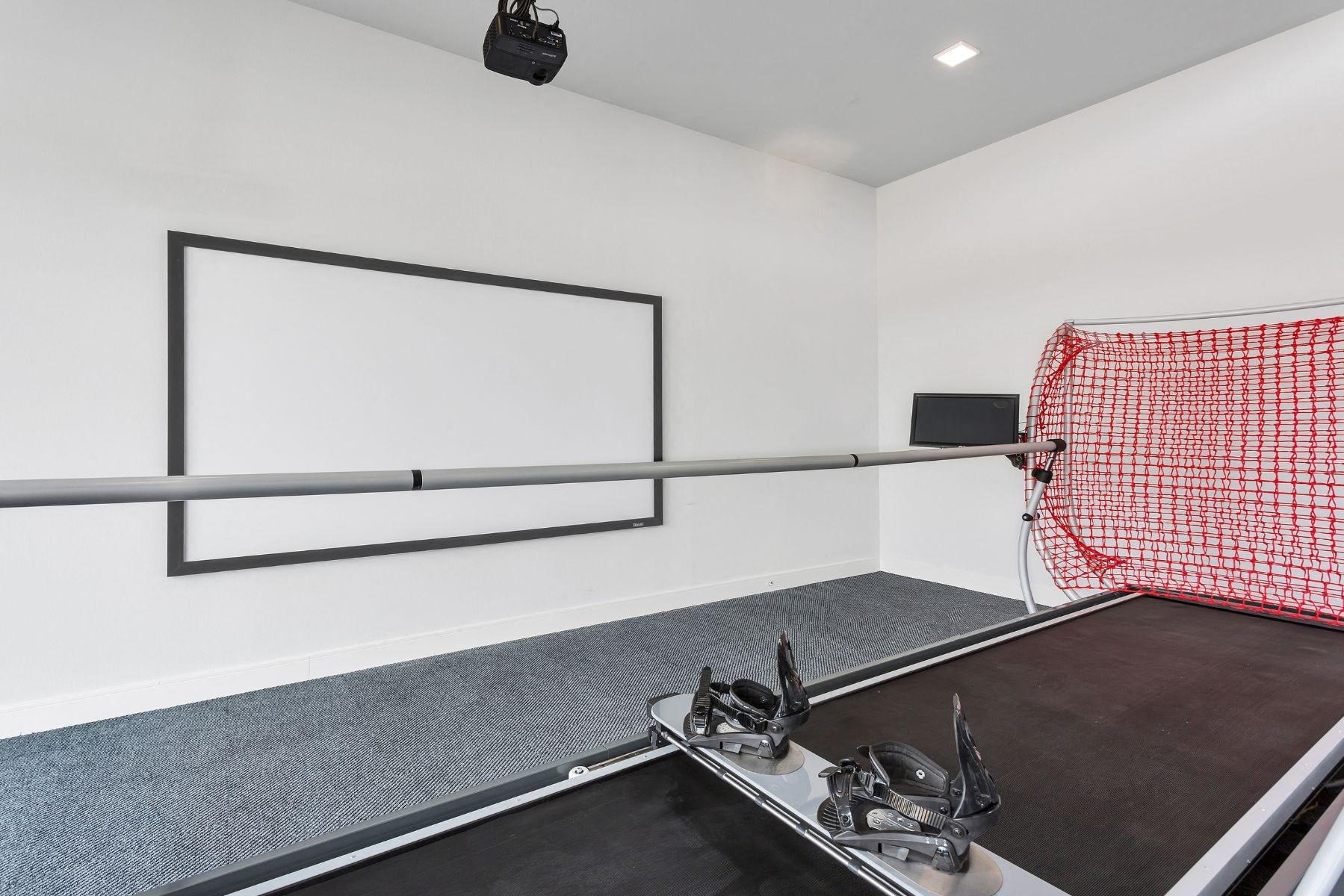 Westwood Green Apartments ski simulator machine
