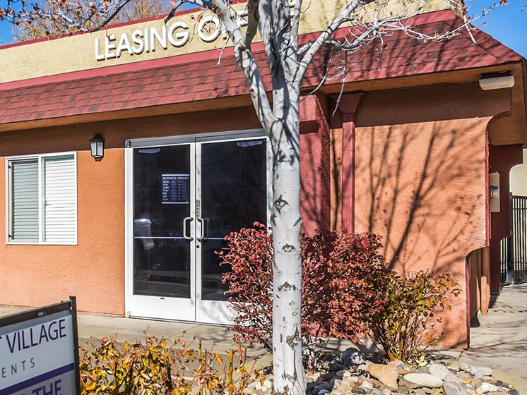 leasing office exterior_Southwest Village Apartments, Reno, NV