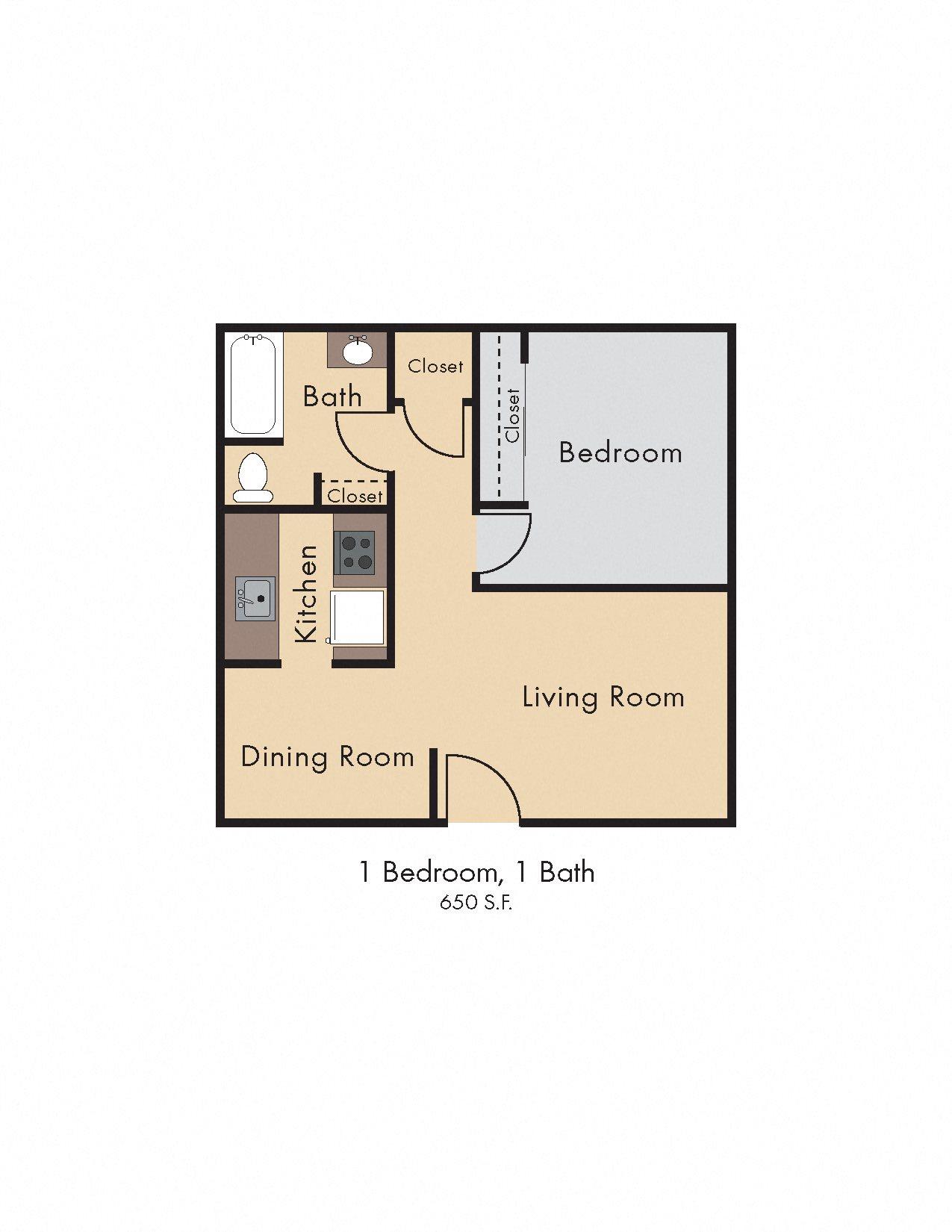 Floor Plans Of Southwest Village Apartments In Reno Nv