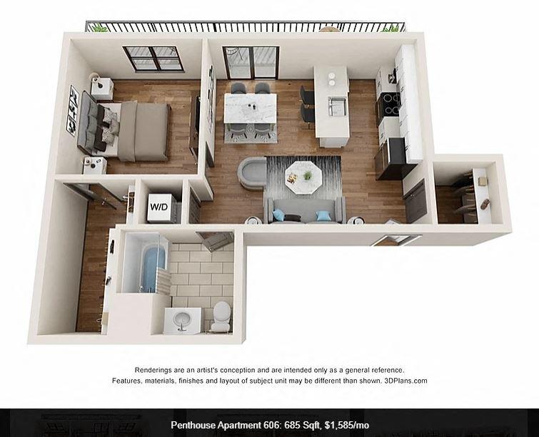 Pent House 606
