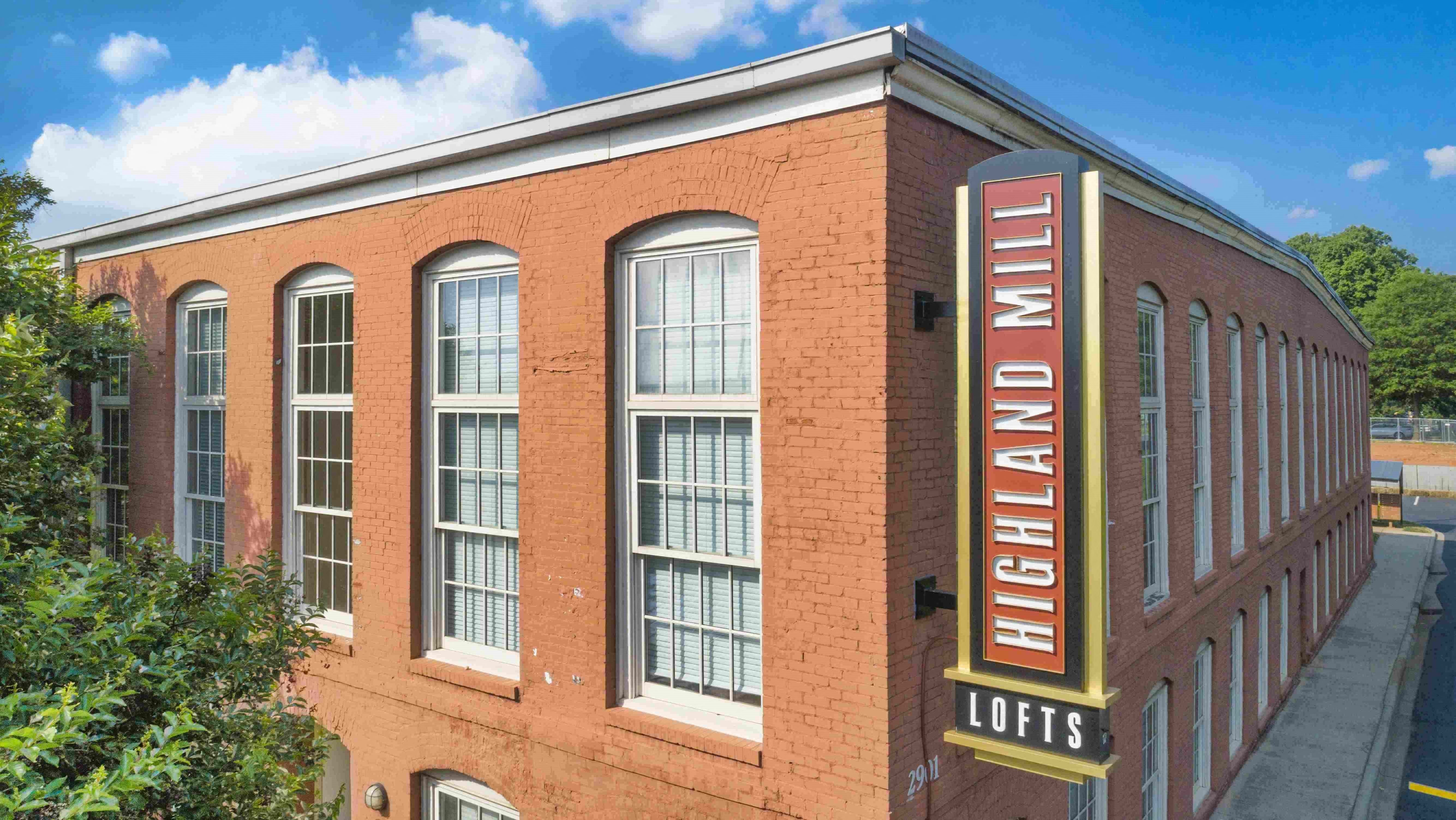 Highland Mill Lofts   Apartments in Charlotte, NC
