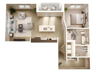 The Bryant Apartments |A6-Sparrow