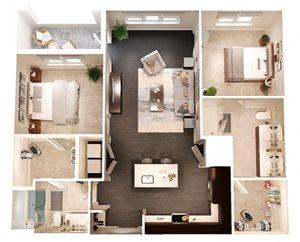 The Bryant Apartments |B1-McClane