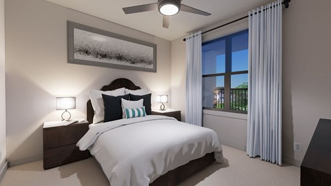The Bryant Apartments | Hickory Hollow Bedroom Finishes