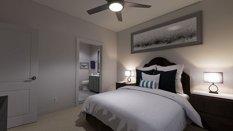 The Bryant Apartments | Stone Mountain Bedroom Finishes