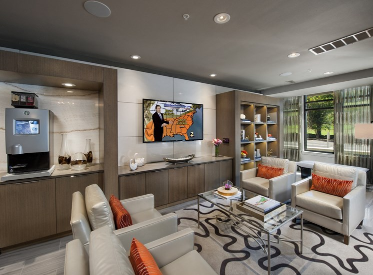 """Free Wi-Fi & Complimentary Latte Lounge complete with All the """"Perks"""" You Need to Get thru Your Day at Park 35 on Clairmont Apartment Homes, 3500 Clairmont Ave. Birmingham, AL 35222"""