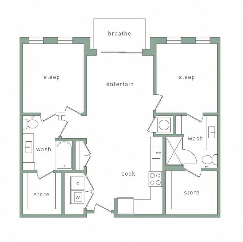 Southside Apartments Birmingham Al: Floor Plans Of Park 35 On Clairmont In Birmingham, AL