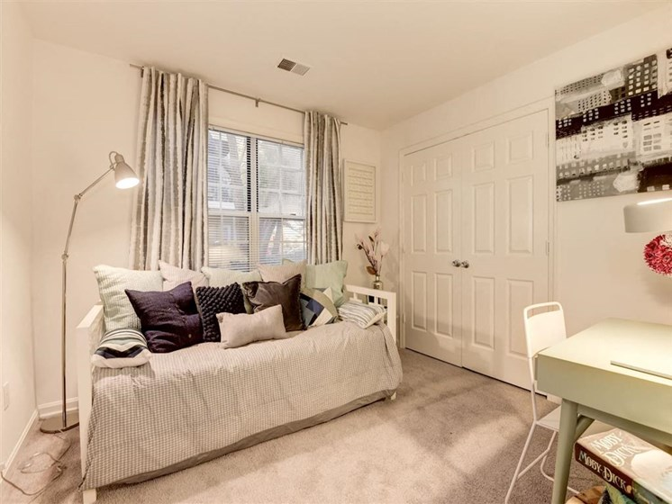 Apartments Alexandria-Henley At Kingstowne Bedroom with Lots of Natural Lighting