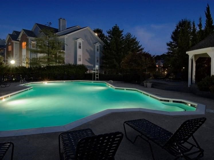evening, Swimming Pool with Sundeck