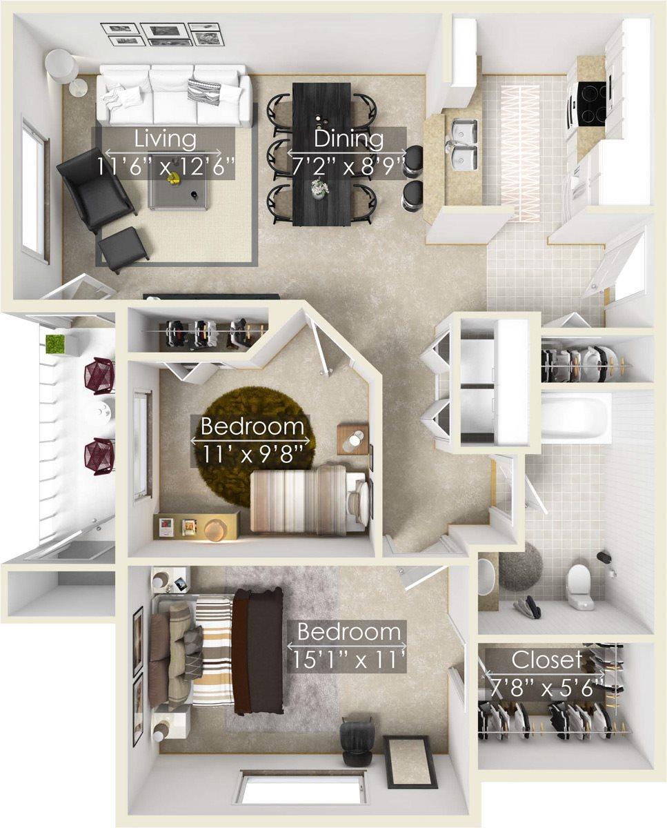 Blackberry Floor Plan 4